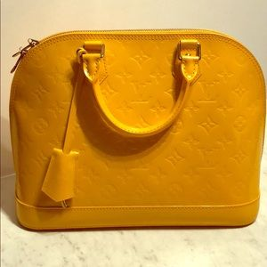 Yellow Monogram Louis Vuitton